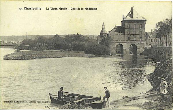 Le Vieux Moulin de Charleville, aujourd'hui Musée Rimbaud.