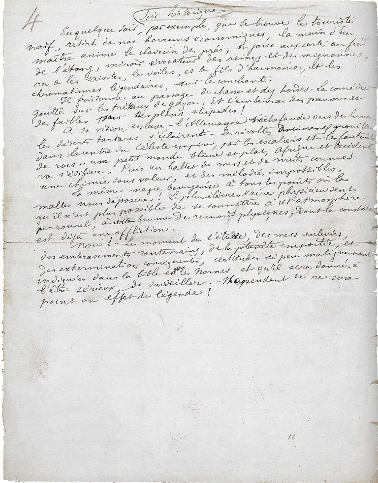Arthur Rimbaud Soir Historique Petite Anthologie
