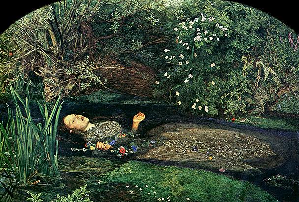 Ophélie de Rimbaud OpheliaMillaisgf